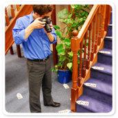 Minivator esurvey staircase survey system