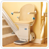 Minivator simplicity+ straight stairlift