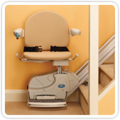 Minivator simplicity straight stairlift